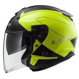 Prilba na motocykel LS2 OF521 INFINITY Beyond black yellow