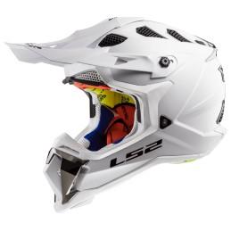 Prilba na motocykel LS2 MX470 Subverter Solid white