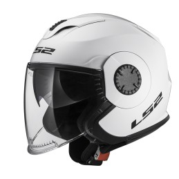 Prilba na moto LS2 OF570 VERSO Solid white