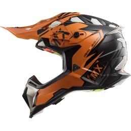 Prilba na motocykel LS2 MX470 Subverter Emperor black orange