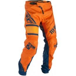 Nohavice Fly Racing Kinetic Era 2018 oranžové modré