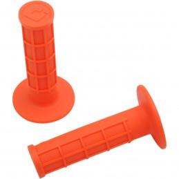 Gripy ODI ruffian s polovičnou mriežkou oranžové