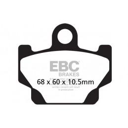 Brzdové platničky EBC FA081