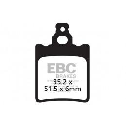 Brzdové platničky EBC FA060