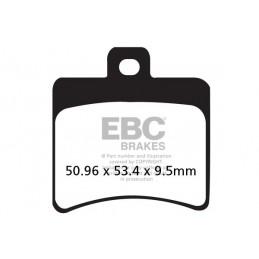 Brzdové platničky EBC FA298