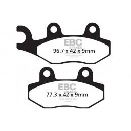 Brzdové platničky EBC FA228