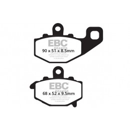 Brzdové platničky EBC FA192HH