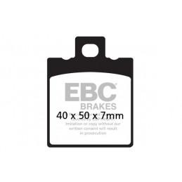 Brzdové platničky EBC FA047HH