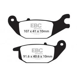 Brzdové platničky EBC FA343