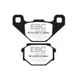 Brzdové platničky EBC FA382