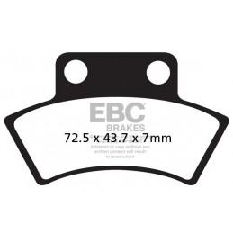 Brzdové platničky EBC FA232TT