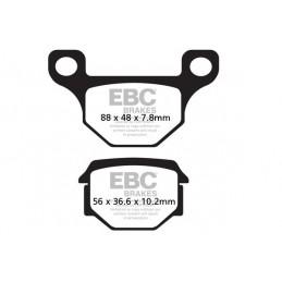 Brzdové platničky EBC FA093