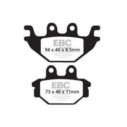 Brzdové platničky EBC FA377