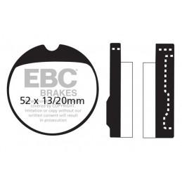 Brzdové platničky EBC FA013