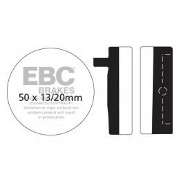 Brzdové platničky EBC FA012