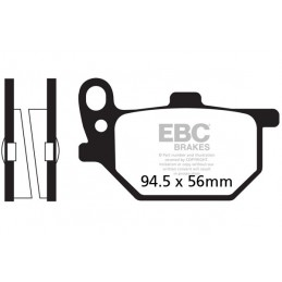 Brzdové platničky EBC FA041