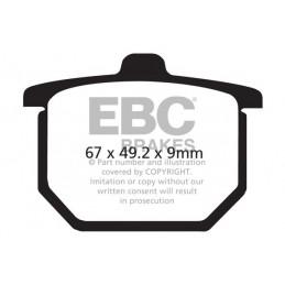 Brzdové platničky EBC FA031