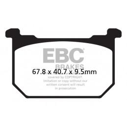 Brzdové platničky EBC FA068