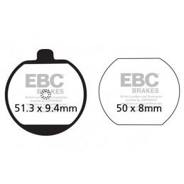 Brzdové platničky EBC FA073