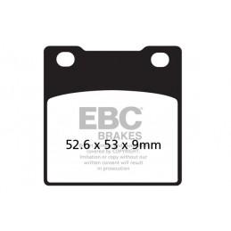Brzdové platničky EBC FA063