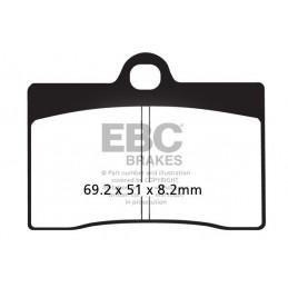 Brzdové platničky EBC FA095HH