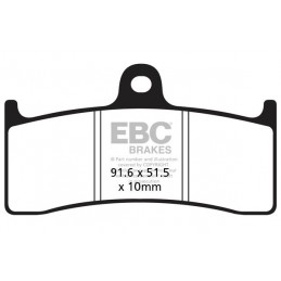 Brzdové platničky EBC FA249HH