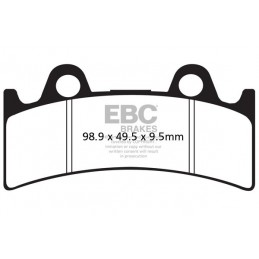 Brzdové platničky EBC FA190