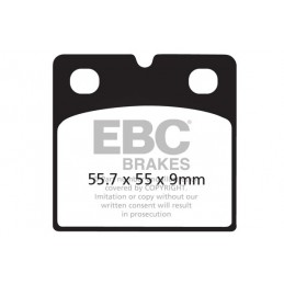 Brzdové platničky EBC FA018HH