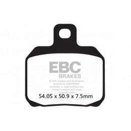 Brzdové platničky EBC FA266HH