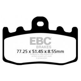 Brzdové platničky EBC FA335HH