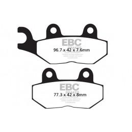 Brzdové platničky EBC FA214/2HH