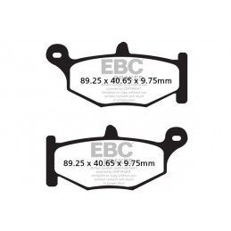 Brzdové platničky EBC FA419