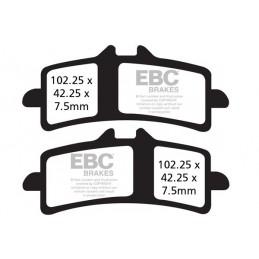 Brzdové platničky EBC FA447HH