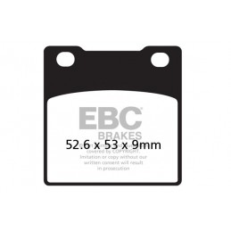 Brzdové platničky EBC FA063HH