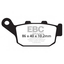 Brzdové platničky EBC FA140HH
