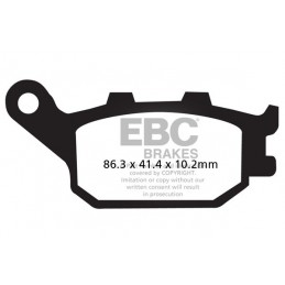 Brzdové platničky EBC FA174HH