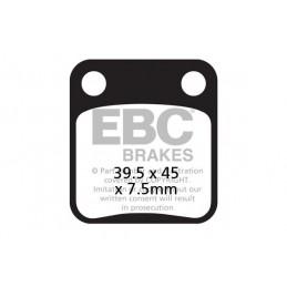 Brzdové platničky EBC FA054HH