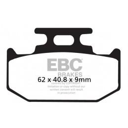 Brzdové platničky EBC FA152/2TT