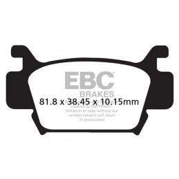 Brzdové platničky EBC FA410TT