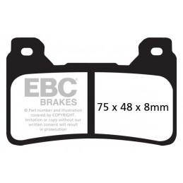 Brzdové platničky EBC EPFA390HH