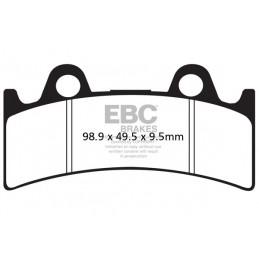 Brzdové platničky EBC FA190HH