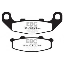 Brzdové platničky EBC FA141