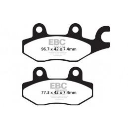 Brzdové platničky EBC FA165/2TT