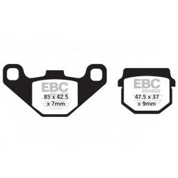 Brzdové platničky EBC FA083R