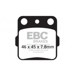 Brzdové platničky EBC FA084R