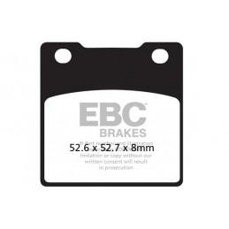 Brzdové platničky EBC FA161HH