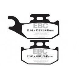 Brzdové platničky EBC FA317R