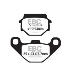 Brzdové platničky EBC FA372R