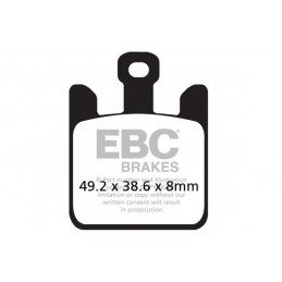 Brzdové platničky EBC EPFA369/4HH