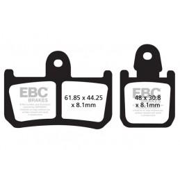 Brzdové platničky EBC EPFA442/4HH